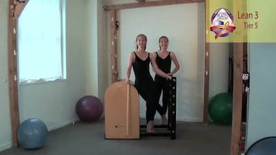 Instant Access to Lean 3 on the Ladder Barrel by Pilates on Fifth, powered by Intelivideo
