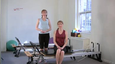 Footwork with Advanced Breath by Pilates on Fifth