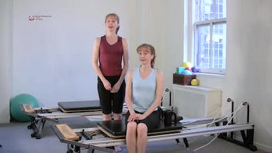 One Leg Pull Down Side by Pilates on Fifth