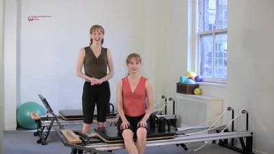 One Leg Pull Down Circle by Pilates on Fifth