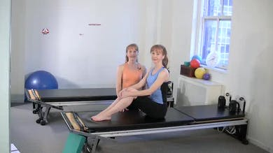 Half Roll Down by Pilates on Fifth