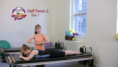 Half Swan 2 by Pilates on Fifth