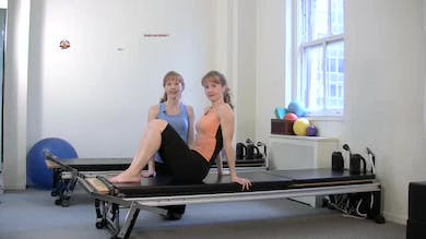 Single Leg Stretch 1 by Pilates on Fifth