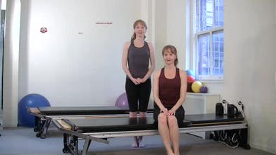 Half Curl with Breath by Pilates on Fifth