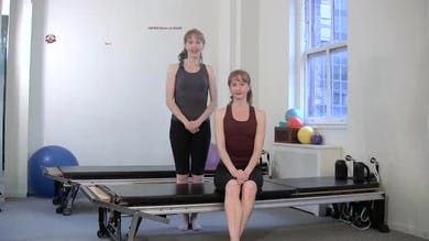 Half Roll Down with Breath by Pilates on Fifth