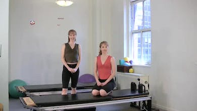 Push Up 5 Roll Down One Leg by Pilates on Fifth