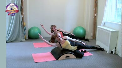 Arc Barrel Easy Workout by Pilates on Fifth
