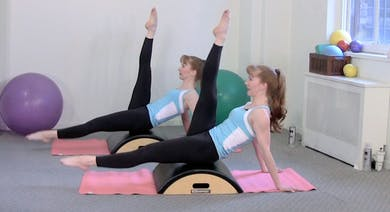 Arc Barrel Core Conditioning Workout by Pilates on Fifth