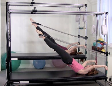 Cadillac Core Stretch Workout by Pilates on Fifth