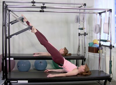 Quick Legs and Butt Workout on the Cadillac by Pilates on Fifth