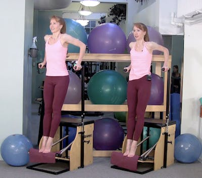 Chair Workout Builder: Arms & Back A by Pilates on Fifth
