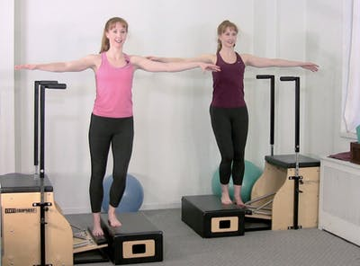 Strength and Stability Chair Workout by Pilates on Fifth