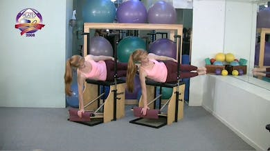 Quick Abs and Core Workout on the Chair by Pilates on Fifth