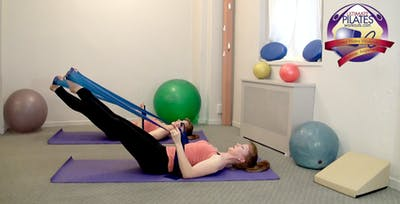 Instant Access to Pelvic Floor/ Pre-Natal/ Post-Partum/ Stretch Band Workout by Pilates on Fifth, powered by Intelivideo