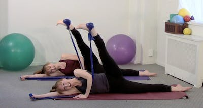 Instant Access to Stretch and Strengthen with the Stretch Band by Pilates on Fifth, powered by Intelivideo