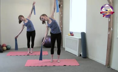 Stretch Band Workout for a Dancer's Body by Pilates on Fifth