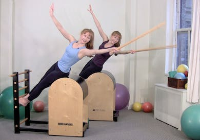 Fierce and Fit on the Ladder Barrel by Pilates on Fifth