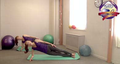 Plank Intense Mat Workout by Pilates on Fifth