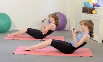 Instant Access to Raise the Bar! Mini-Body Bar Workout by Pilates on Fifth, powered by Intelivideo