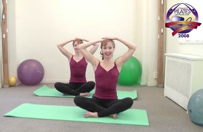 Instant Access to Mat Warm Up Seated by Pilates on Fifth, powered by Intelivideo