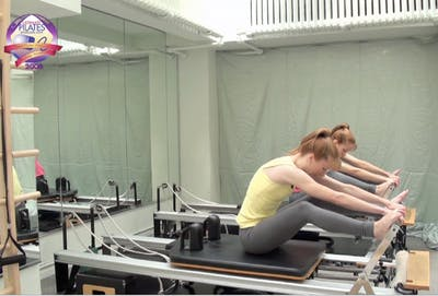 Instant Access to Reformer Gentle Stretch Workout by Pilates on Fifth, powered by Intelivideo