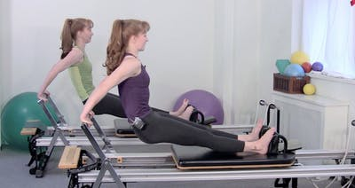 Instant Access to Reformer Upper Body Intensive by Pilates on Fifth, powered by Intelivideo