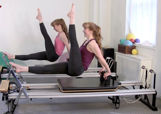 Instant Access to Reformer Core Stretch by Pilates on Fifth, powered by Intelivideo