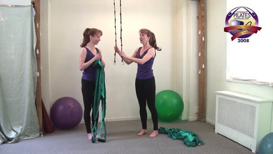 Instant Access to SilkSuspension Set Up and Safety Video by Pilates on Fifth, powered by Intelivideo