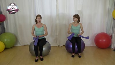 Stability Ball 1 for Core Strength and Lumbar Stabilization by Pilates on Fifth