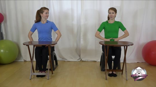 Instant Access to Perfect Your Posture at Work WORKOUT by Pilates on Fifth, powered by Intelivideo