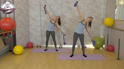 Instant Access to Total Body Beach Workout Arms and Abs by Pilates on Fifth, powered by Intelivideo