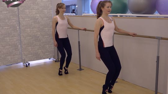 Instant Access to Pilates Barre Fusion High Heel Workout by Pilates on Fifth, powered by Intelivideo