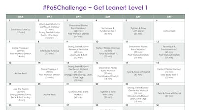 Level 1 Leaner - #Po5Challenge by Pilates on Fifth