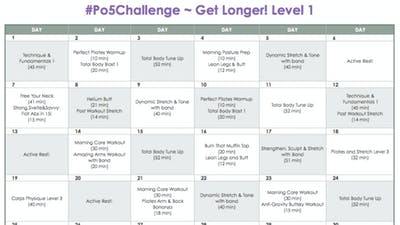 Level 1 Longer - #Po5Challenge by Pilates on Fifth