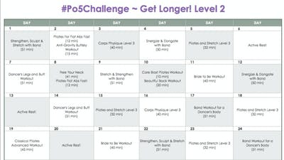 Instant Access to Level 2 Longer - #Po5Challenge by Pilates on Fifth, powered by Intelivideo