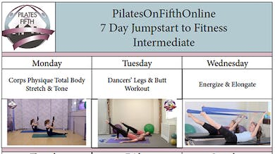 Po5o 7 Day Jumpstart to Fitness Intermediate by Pilates on Fifth