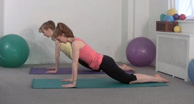Mat Workout Builder: Arms & Back A by Pilates on Fifth