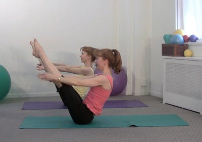 Instant Access to Mat Workout Builder: Abs & Core C by Pilates on Fifth, powered by Intelivideo