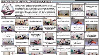 Po5o From Amateur to Expert Workout Calendar.pdf by Pilates on Fifth