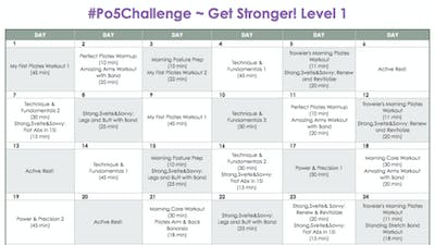 Level 1 Stronger - #Po5Challenge by Pilates on Fifth