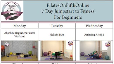 Po5o 7 Day Jumpstart to Fitness For Beginners by Pilates on Fifth