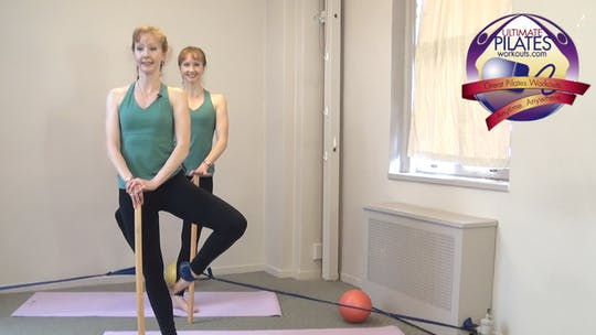 Instant Access to Barre Conditioning Workout with the Stretch Band by Pilates on Fifth, powered by Intelivideo