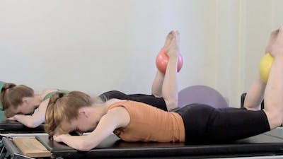 Small Ball Toning Workout by Pilates on Fifth