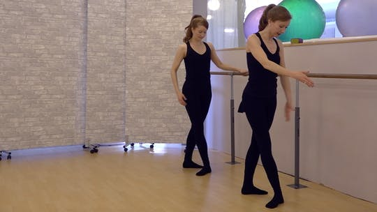 Instant Access to My First Ballet Barre Workout by Pilates on Fifth, powered by Intelivideo