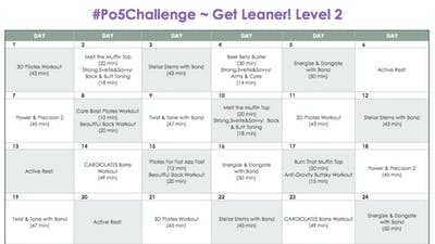 Level 2 Leaner - #Po5Challenge by Pilates on Fifth