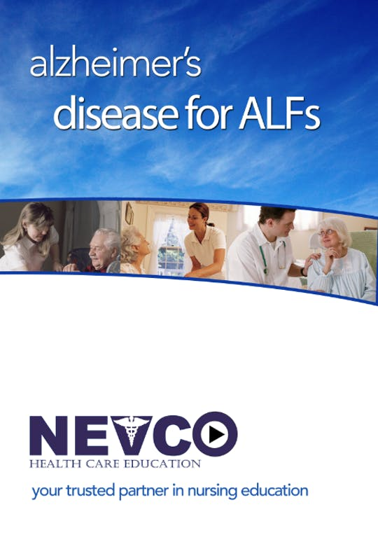 Instant Access to Alzheimer's Disease for Assisted Living Facilities - Level 1 by Nevco Healthcare Education , powered by Intelivideo