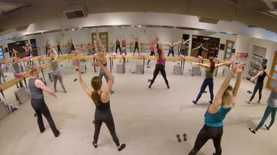 Instant Access to Live Physique Sweat Class: 1-18-19 by The Ballet Physique, powered by Intelivideo