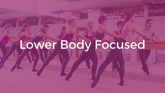 Lower Body Focused by The Ballet Physique