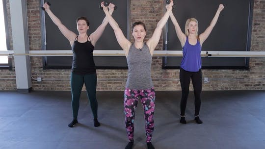 Instant Access to Upper Body Series 3 - Triceps, Biceps, & Shoulders Oh MY! by The Barre Code, powered by Intelivideo