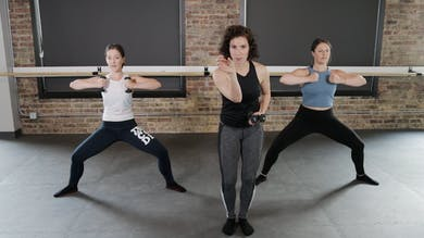 Thighs and Upper Body 1 - Power Plie & Press by The Barre Code